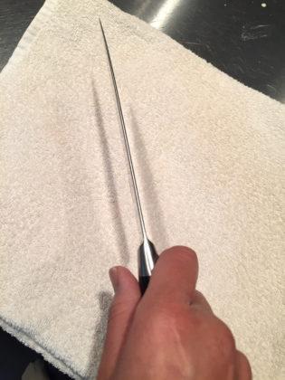 正しいナイフの持ち方